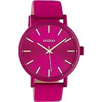 OOZOO Timepieces Rood horloge C10448 (42 mm)