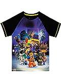 Lego Movie Maglietta Maniche Corta per Ragazzi Nero 12-13 Anni