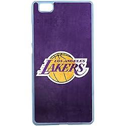AUX Prix Canons–Funda Funda Carcasa basquetball Lakers Huawei P8Lite