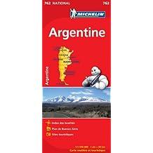 Carte NATIONAL Argentine