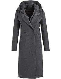 Khujo mantel grau damen