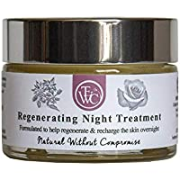 The Earth Works Cosmetics - Hand Made - Regenerating Night Treatment - 45g