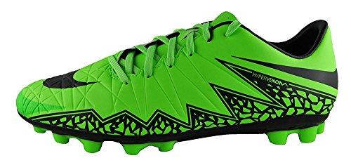 Nike Hypervenom Phelon II Ag-R, Scarpe da Calcio Uomo GREEN STRIKE / BLACK