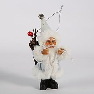 Muñeca de Papá Noel Navidad decoración del hogar Mini Papá Noel Navidad, etc. Hanging Decor por Kayi