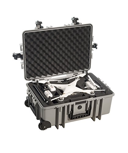 Top B&W outdoor.cases type 6700 with DJI Phantom 3 Standard / 3 Advanced / 3 Professional Inlay – The Original Review