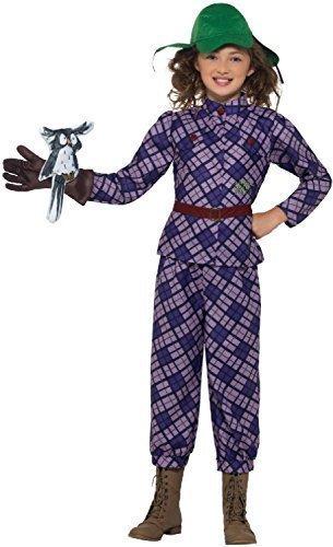 Fancy Me Mädchen Offiziell Deluxe Awful Auntie Tante David Walliams Welttag des buches-Tage-Woche TV Film Kostüm Kleid Outfit 4-14 Jahre - 12-14 years
