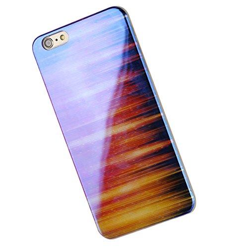 iPhone 6S Plus Hülle, iPhone 6 Plus Hülle, iPhone 6 Plus/ 6S Plus Silikon hülle Tasche mit Schimmel Malerei Muster, SainCat Protective Silikon Hülle Case Tasche Handyhülle [Kratzfeste, Scratch-Resista Blu-ray-Verbrennung
