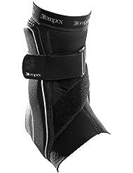 Compex Bionic - Tobillera pie izquierdo, color negro, tamaño L