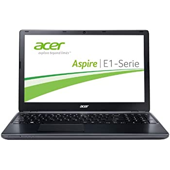 Acer Aspire E1-532-29554G50DNKK 39,6 cm (15,6 Zoll) Notebook (Intel Celeron 2955U, 1,4GHz, 4GB RAM, 500GB HDD, Intel HD, kein Betriebssystem) schwarz
