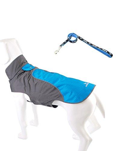 PALMFOX Abrigos y guantes para perros Set Ripstop Poliéster Revestimiento de malla...