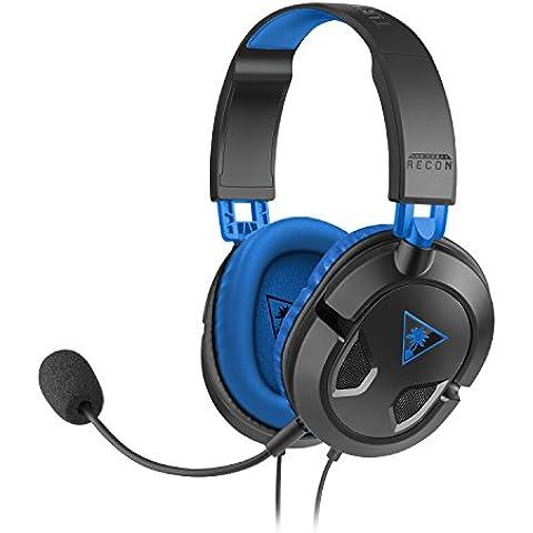 Turtle Beach - Auriculares Para Juegos Recon 60P Ear Force (PS4, PS3)