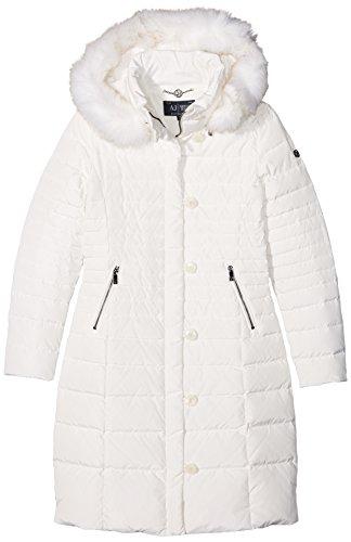 Armani Jeans Damen Jacke 6x5l465nuaz Elfenbein (BIANCO LATTE 1148)