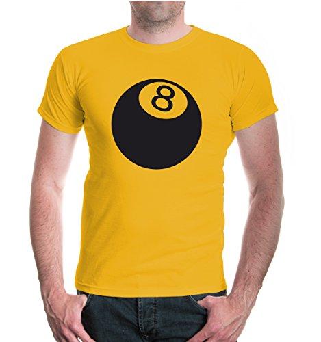 buXsbaum® T-Shirt Billiard Ball Sunflower-Black
