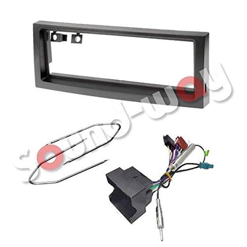 Kit Montage Adaptateur Cadre de Radio fa/çade autoradio 1 DIN Citroen C5