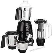 AmazonBasics Premium 750W Mixer Grinder with 3 Stainless Steel Jar + 1 Juicer Jar, Black &