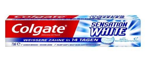 Colgate Sensation White Zahncreme, 3er Pack (3 x 75 ml)