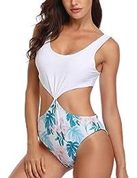 Bikinis Mujer 2019 Push Up, Zolimx Mujeres Acolchadas Sexy Floral con Cordones de Impresión Sin