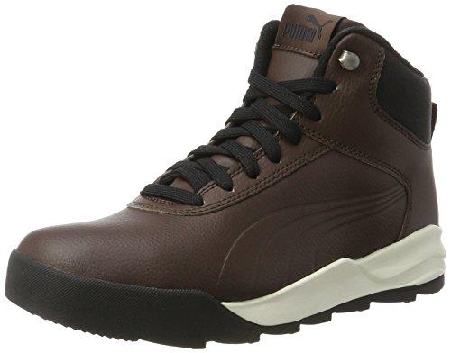 Puma Desierto Sneaker L, Sneakers Basses Mixte Adulte, Noir, 43 EU