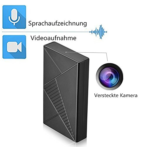 OMOUP 1080P 16G HD Mini Versteckter Kamera Tragbare Kleine Box Kamera Spy Cam Nightvision Motion Detection überwachungskamera