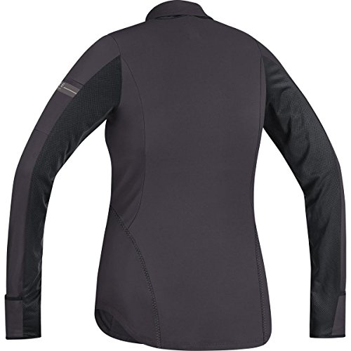 Gore Running Wear Air Maillot à manches longues Femme Marrone/Nero