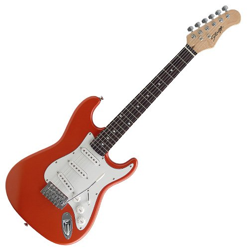 STAGG S300 3/4 ORM   GUITARRA ELECTRICA  COLOR NARANJA