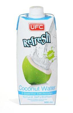 UFC Refresh 100% Coconut Water 500ml x24