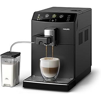 Philips 3000 Serie HD8829/01 Kaffeevollautomat (1850 W, Cappuccino auf Knopfdruck) schwarz