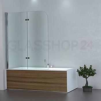 glasshop24 Badewannen Duschabtrennung | 1180x1400mm ...