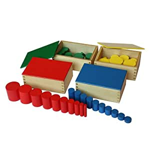 Montessori Knobless Cylinders