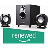 (Renewed) FD F203G 2.1 Channel Multimedia Speakers System (Black)