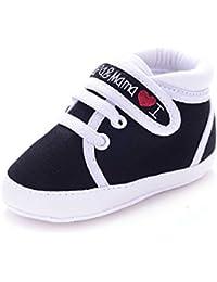 Amison Niedlich Baby Säugling Kind Junge Mädchen weiche Sohle Leinwand Sneaker Kleinkind Schuhe