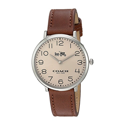 Coach Ladies Watch Analog Casual Quartz Watch 14502682