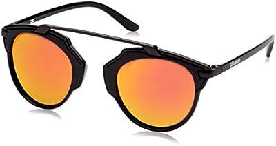 D.Franklin DUBAI BLACK / RED - gafas de sol, unisex, color rojo, talla UNI