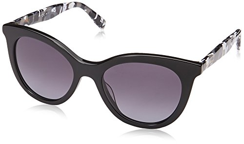 BOSS Orange Damen BO 0310/S 9O 80S 51 Sonnenbrille, Schwarz (Black White/Grey Sf),