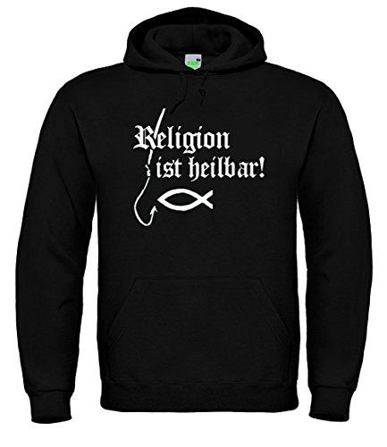 Bimaxx Religion ist heilbar Hoodie | Schwarz | Größe XXL