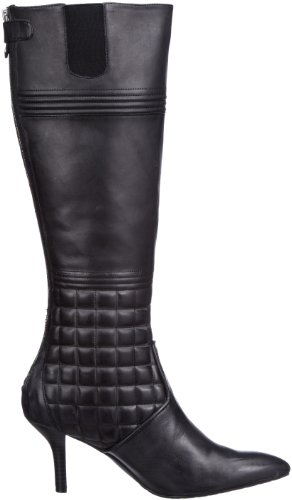 Rockport Lianna Quilted Tall Boot K62986, Boots femme Noir black