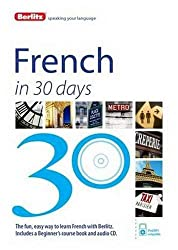 Berlitz Language: French In 30 Days (Berlitz in 30 Days)