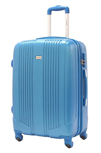 Valise Taille Moyenne 65cm - ALISTAIR Airo - ABS ultra Léger - 4 roues - Bleu Ciel