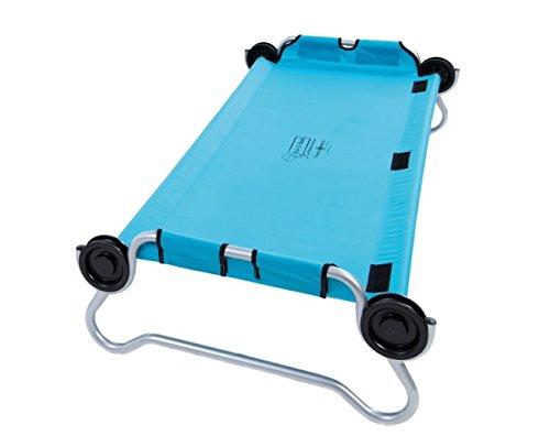 DISC-O-BED Kid-O-Bed blau, runder Rahmen