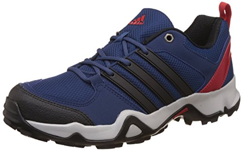 adidas Men's Storm Raiser 2 Mysblu, Cblack and Scarle Trekking and Hiking Boots - 10 UK/India (44.67 EU)
