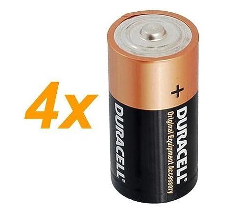4x Duracell 1,5 V Baby C/ LR14/ AM2/ 4014/Alkaline Batterie