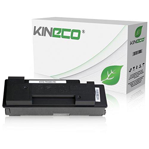 Preisvergleich Produktbild Toner kompatibel zu Kyocera TK-340 TK340 für Kyocera FS-2020D, FS-2020DN - 1T02J00EU0 - Schwarz 12.000 Seiten