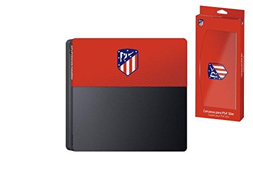 Subsonic – Façade (coque de personnalisation) pour PS4 Slim – Faceplate de customisation pour Playstation 4 Slim – Licence officielle ATM Atletico de Madrid