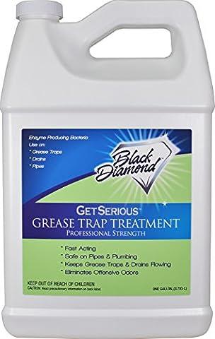 Get Serious Piège à graisse Traitement Commercial Enzyme vidange Décapsuleur, pour, propriétés anti-odeurs, Siphon de nettoyage et d'entretien.