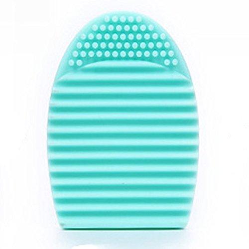 Vovotrade®Gant de nettoyage MakeUp brosse de lavage laveur Conseil cosmétique Clean(Bleu)