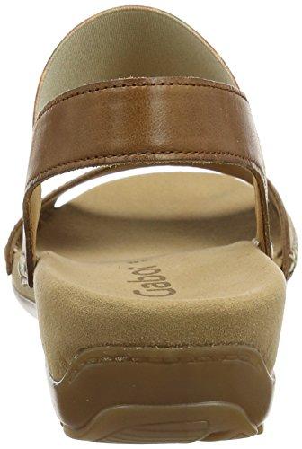 Gabor Shoes Damen Fashion Offene Sandalen Braun (peanut 24)