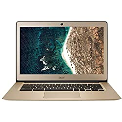 "Acer Chromebook CB3-431-C01X Ordinateur portable 14"" FHD Gold (Intel Celeron, 4 Go de RAM, 32 Go eMMC, Intel HD Graphics, OS Chrome)"
