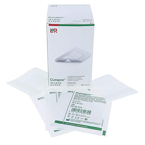Curapor chirurgischer Wundverband steril 10 cm x 8 cm (50 Stück) - Sterile Dressing-pack