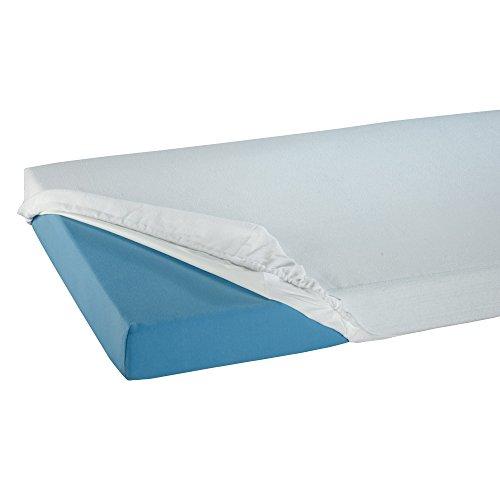 Suprima Spannbetttuch PVC weiß 140x200x20 cm