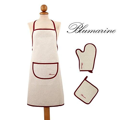 cuisine-set-tablier-plus-gant-manique-plus-blumarine-avec-logo-brode-sur-applique-et-liseret-metis-b